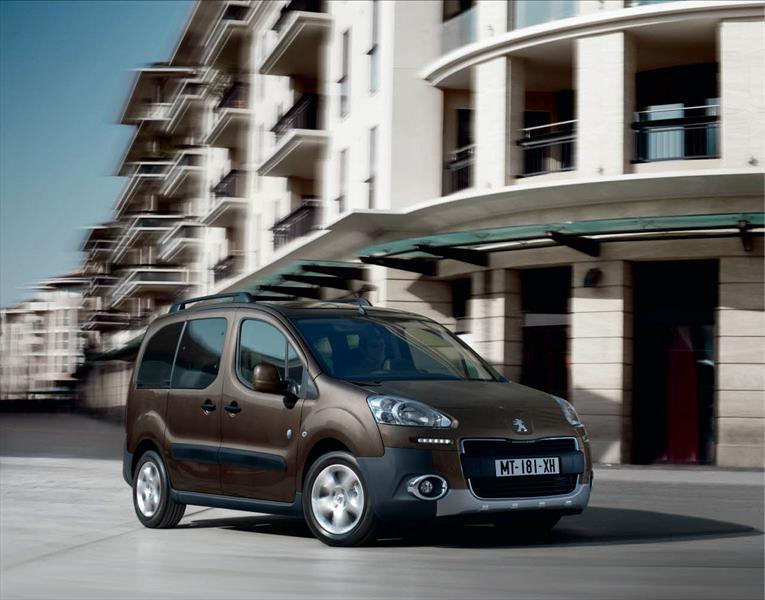 Peugeot Partner Tepee Outdoor de siete plazas