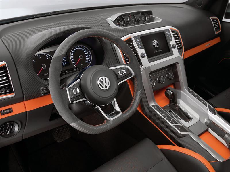 Interior Volkswagen Amarok 2015