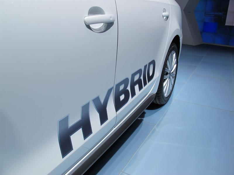 Volkswagen Vento Híbrido en Detroit 2012