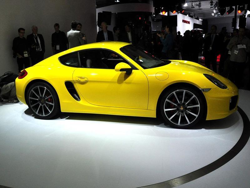 Porsche Cayman 2013 Debuta en Los Angeles 2012