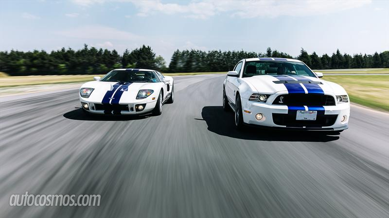 Ford Mustang Shelby GT500 Vs. Ford GT