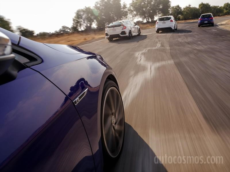 Comparativa: 4 Hot Hatchbacks