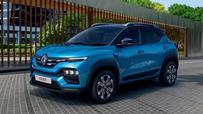 Renault Kiger se presenta en India