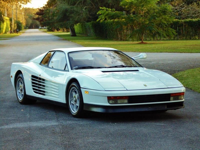 Ferrari Testarossa de Miami Vice