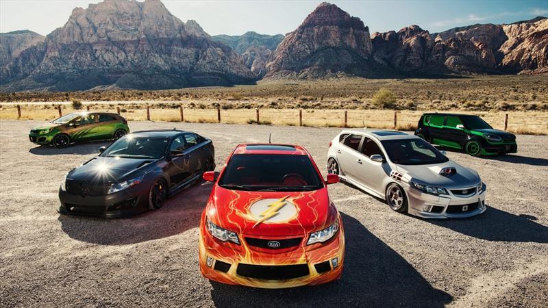 Kia y su gama de autos de la Liga de la Justicia