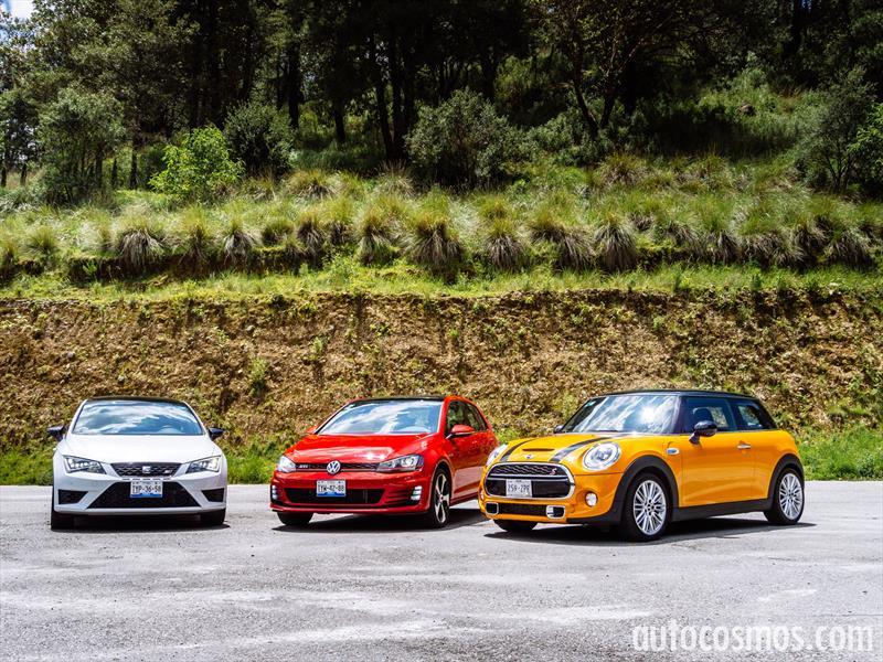 MINI Cooper S VS SEAT Leon CUPRA VS Volkswagen GTI