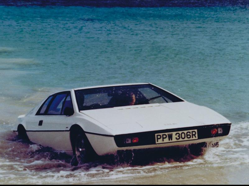 Top 10: Lotus Esprit S1 de James Bond