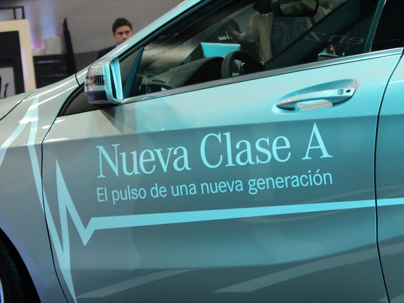 Mercedes-Benz Clase A en el Salón del Automóvil