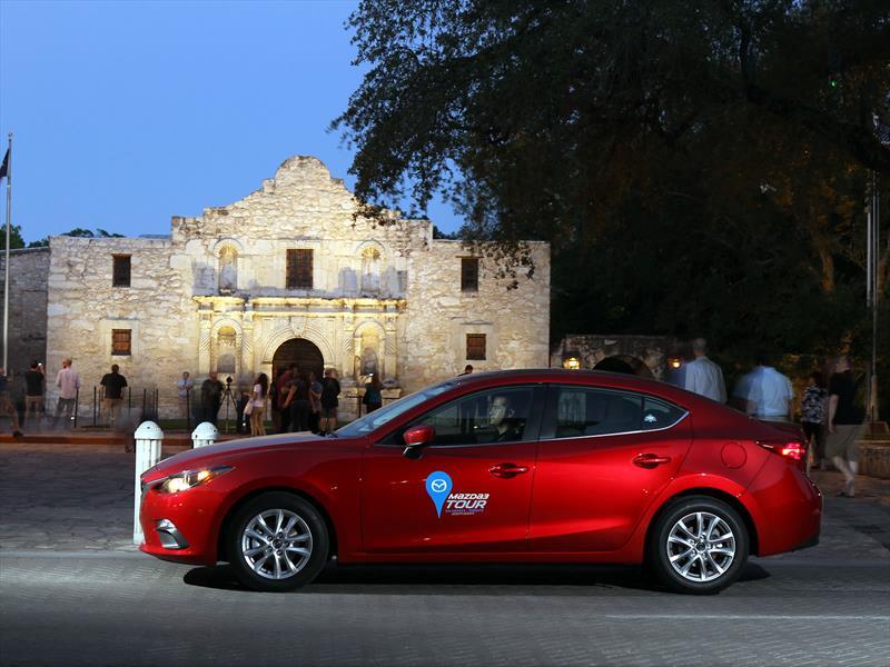Mazda3Tour Etapa 2: Monterrey - San Antonio
