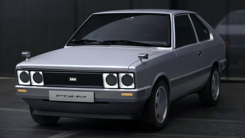 Hyundai Pony Heritage EV