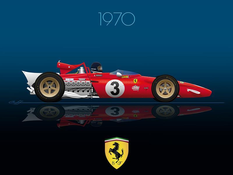 Ganadores GP de México 1970