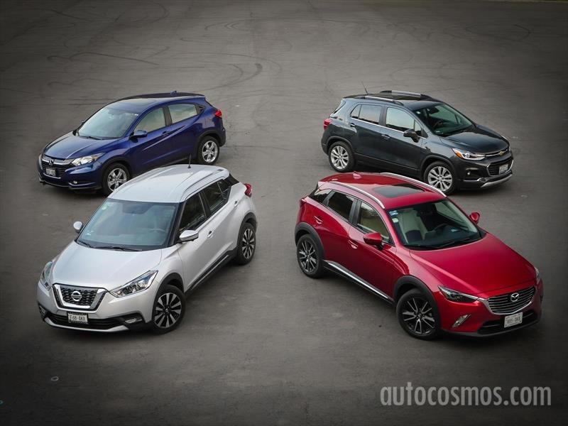 Comparativa: Trax vs HR-V vs Kicks vs CX-3