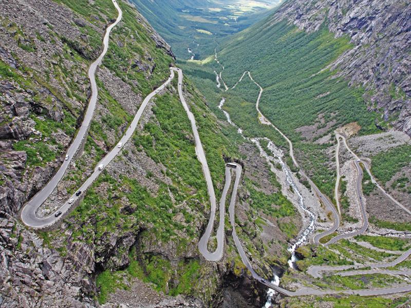 Top 10 Trollstigen - Noruega