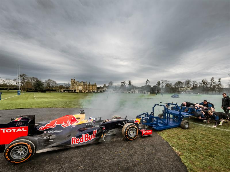 Red Bull F1 Racing Vs. Rugby