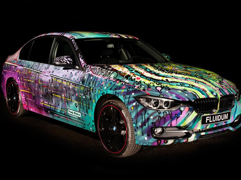 "BMW Serie 3 F30 ""Fluidum"", Art Car por Andy Reiben"