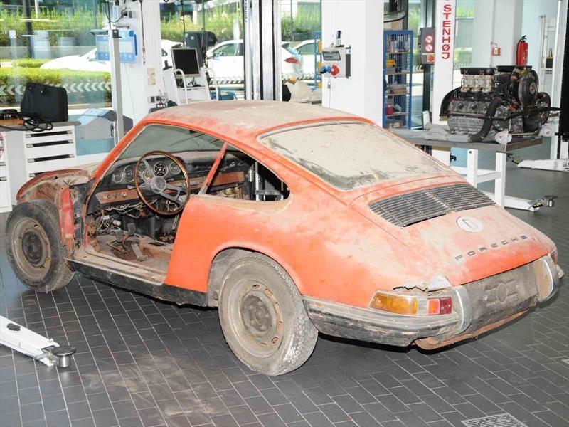 Museo Porsche exhibe a su 911 más antiguo