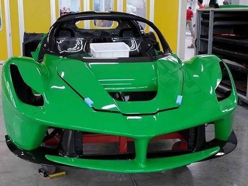 Ferrari LaFerrari verde para Jamiroquai