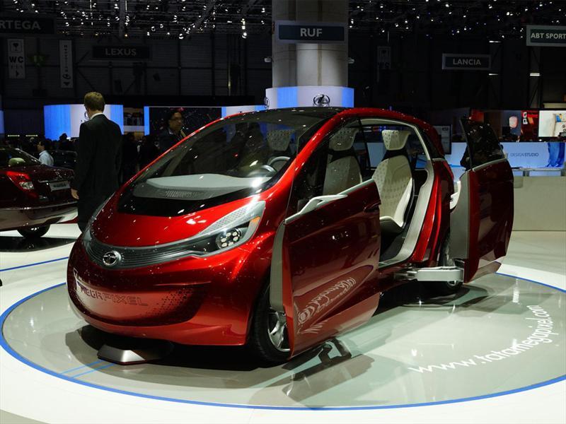 Tata Megapixel debuta en Ginebra 2012