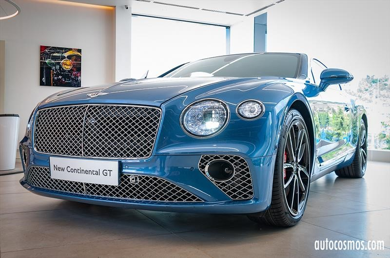 Bentley Continental GT 2019 - Lanzamiento en Chile