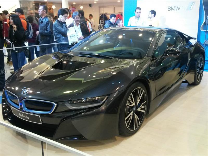 BMW i8 en Bogotá