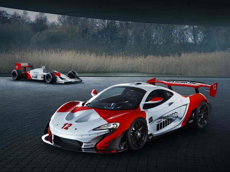 """McLaren P1 GTR """"Beco"""", homenaje a Ayrton Senna"""