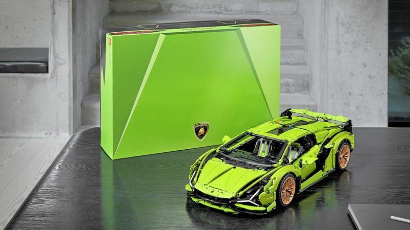 Lamborghini Sián FKP 37 creado por Lego Technic