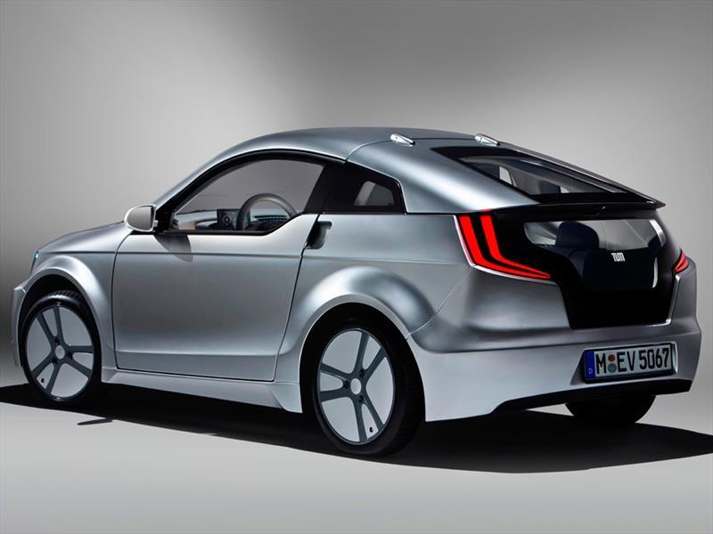 BMW Visio.M EV Concept con ventanas de resina