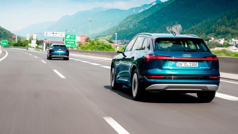 Audi e-tron 2020 cruza 10 países en 24 horas