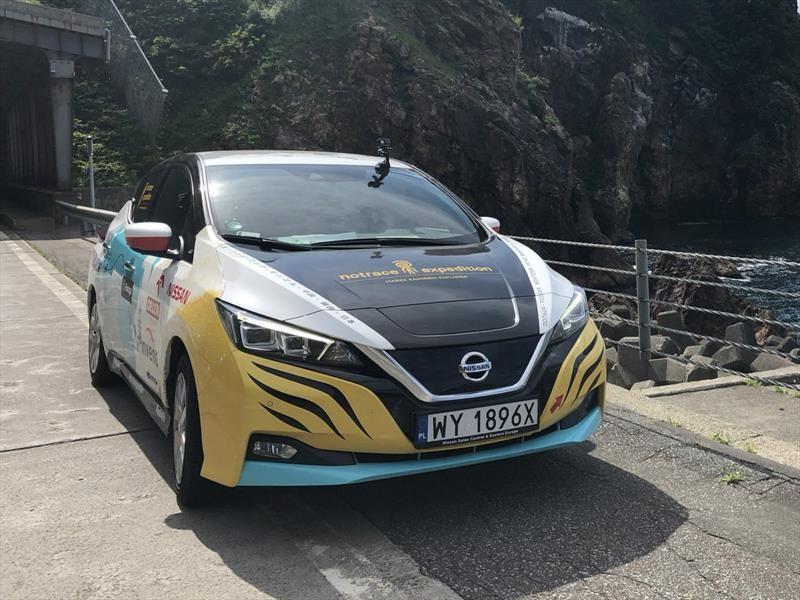 Nissan LEAF: travesía de Polonia a Tokio