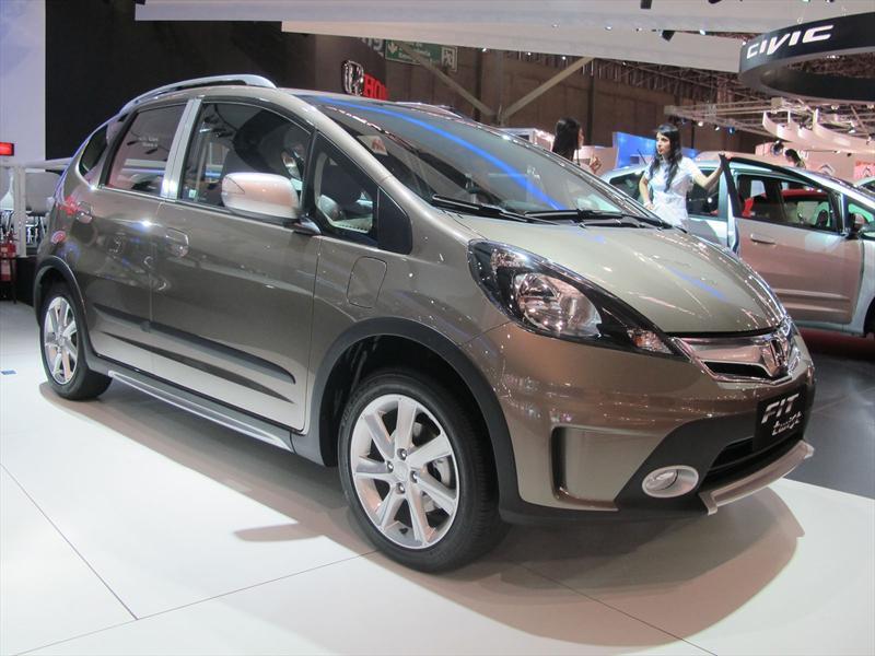 Honda FIT Twist en el Salón de San Pablo 2012