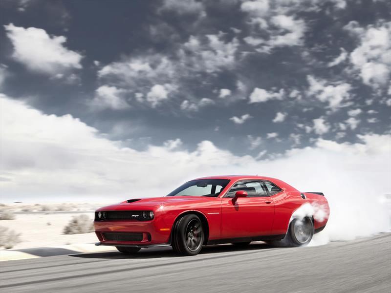 Nuevo Dodge Challenger SRT Hellcat