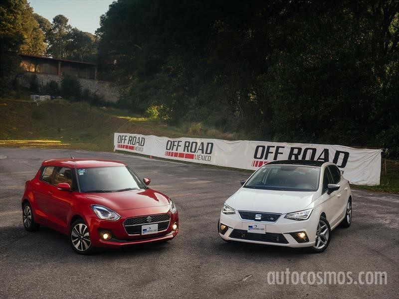 Suzuki Swift 2018 VS SEAT Ibiza 2018