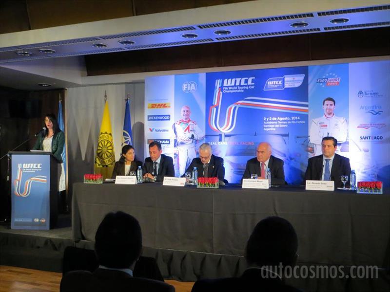 Presentación del WTCC en Argentina