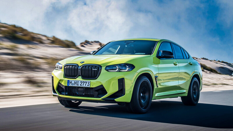 BMW X4 M Competition 2021