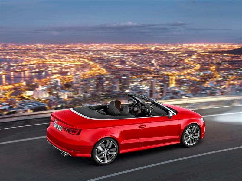 Audi S3 Cabriolet 2015 se presenta