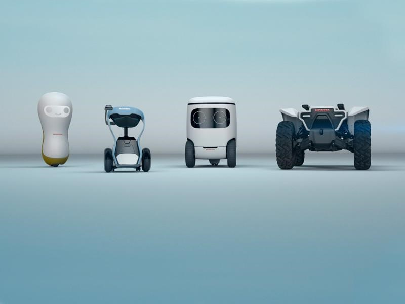 Honda devela 3 adorables robots inteligentes