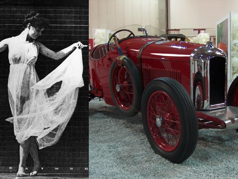Isadora Duncan - ¿Bugatti?