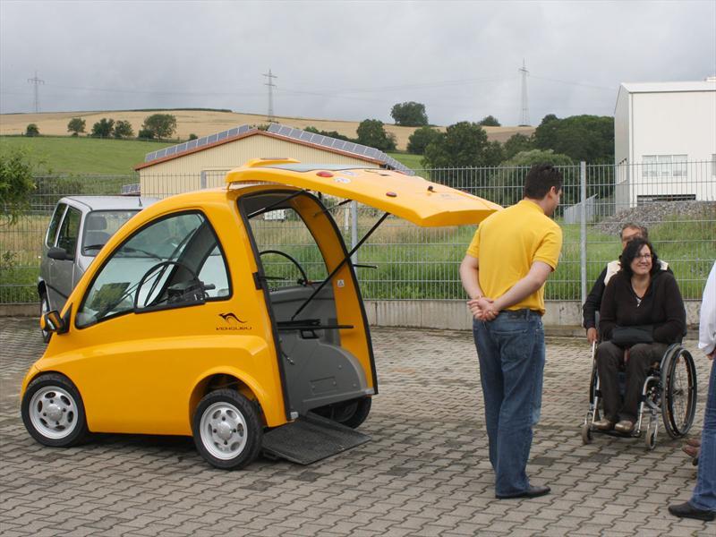 Kenguru, un complemento para las sillas de ruedas