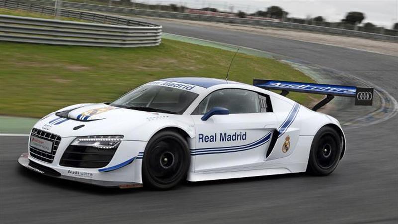 Audi dio sus joyas a la plantilla del Real Madrid
