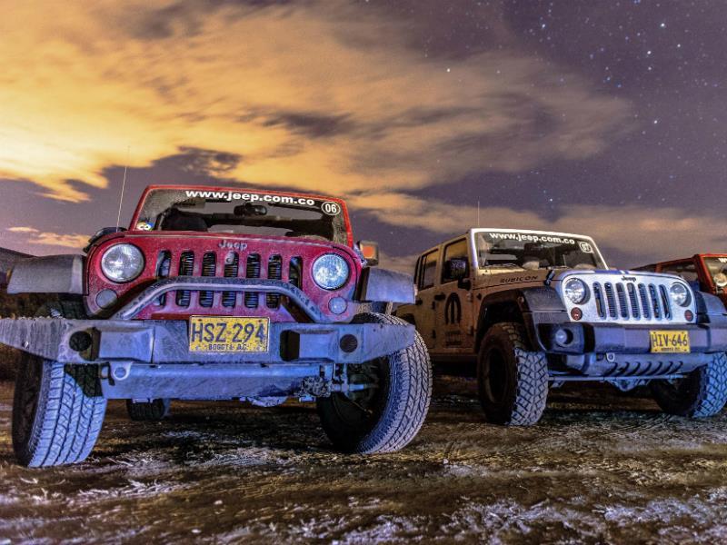 Manada Familia Jeep 2014