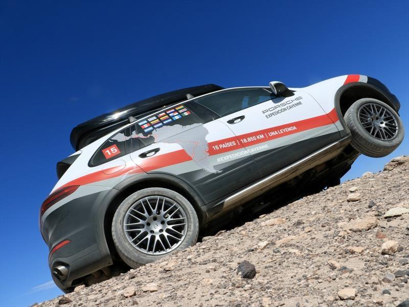 Expedición Porsche Cayenne: Paraguay