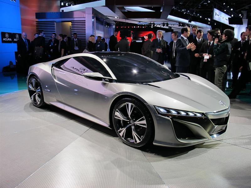 Honda NSX Concept en el Salón de Detroit 2012