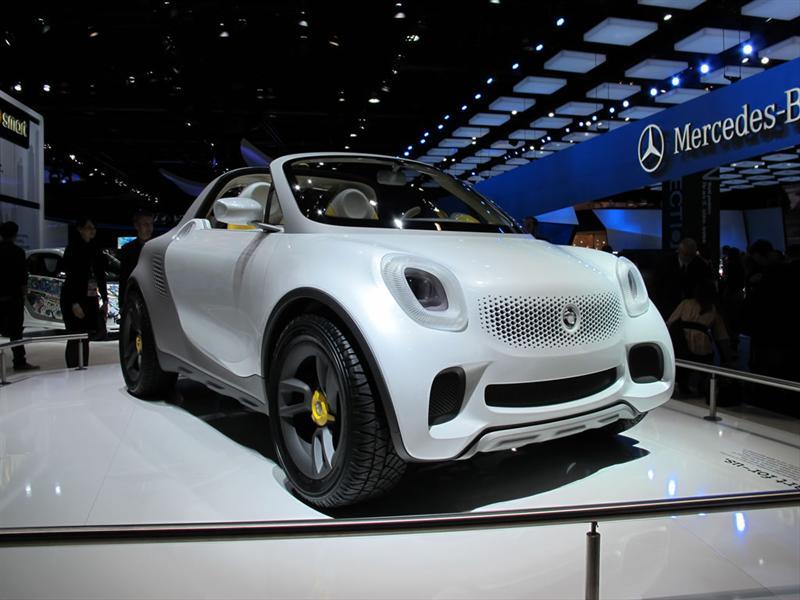 Smart For-Us Concept en el Salón de Detroit 2012
