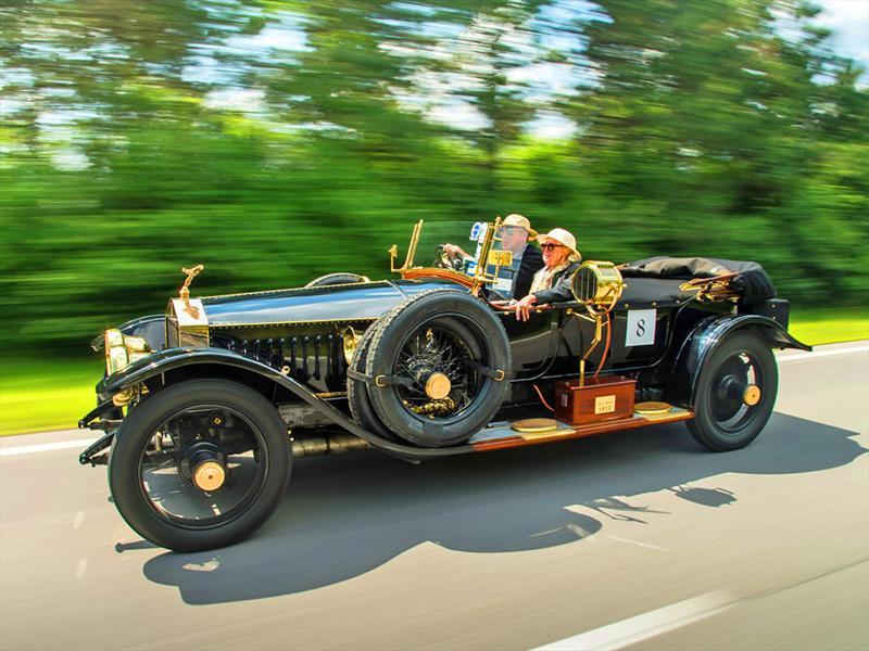 Rolls-Royce en el centenario de la Alpine Trials