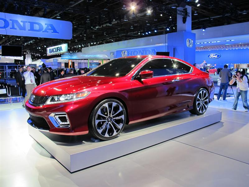 Honda Accord Coupé Concept en Detroit 2012