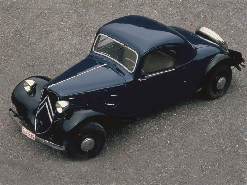 El Citroën Traction Avant cumple 80 años