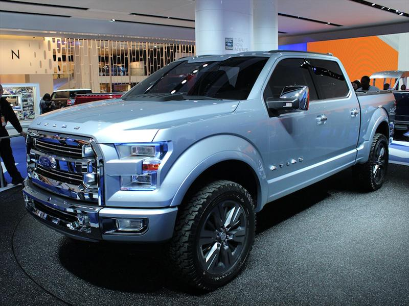 Ford Atlas Concept se presenta