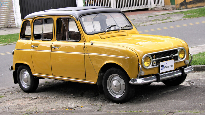 Renault 4 de 1974 convertido a eléctrico