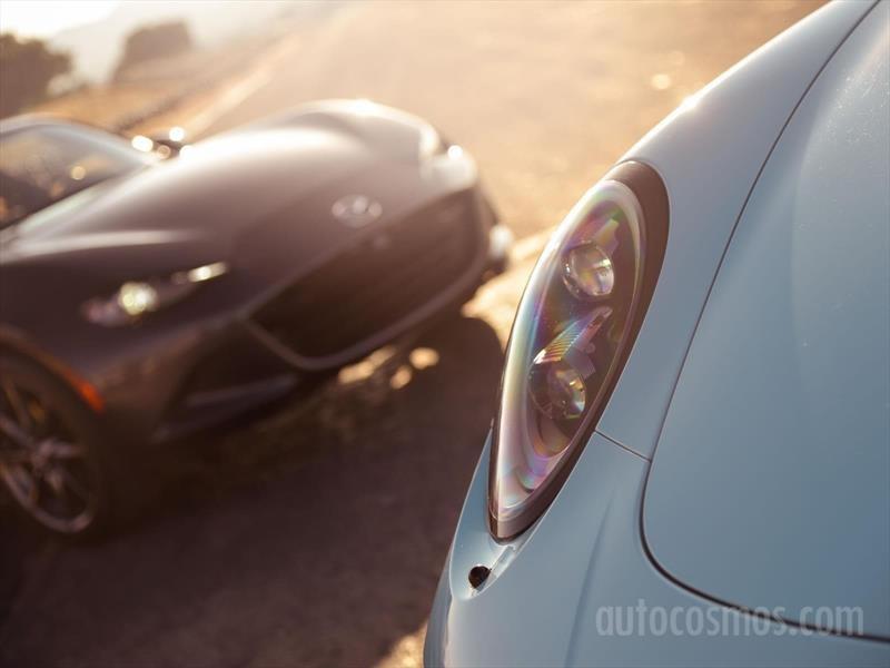 Mazda MX-5 RF vs Porsche 911 Targa 4 GTS