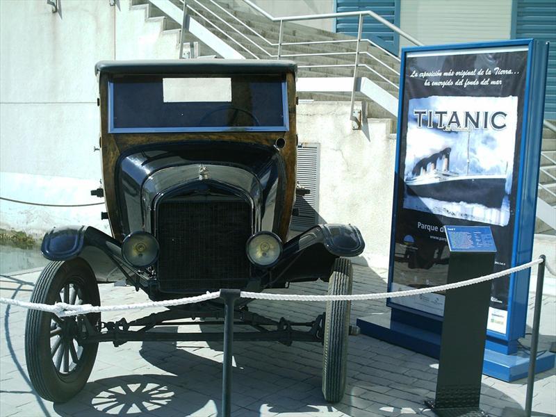 Los autos que se hundieron en el Titanic